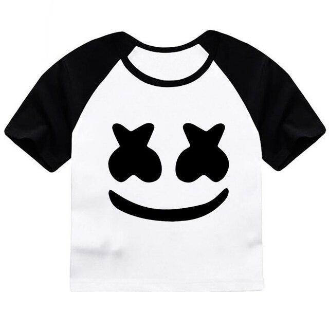 ZSIIBO/Детские топы, футболка костюм для девочек детские летние футболки с забавным принтом для маленьких мальчиков