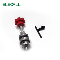Red 0 6 To 10mm Precious Head Hand Twist Drill Text Play Woodworking DIY Tools Drill
