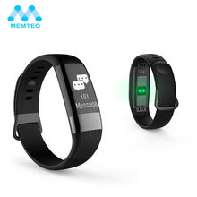 Consumer Electronics - Smart Electronics - MEMTEQ Smart Wristband Passometer Blood Pressure Fitness Bracelet Heart Rate Tracker Waterproof IP67 Sport Watch For Android IOS