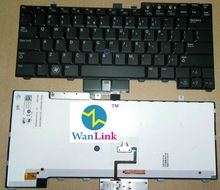 For use on DELL E6400 E6410 M4400 M2400 E6500 backlit laptop keyboard US version with backlight