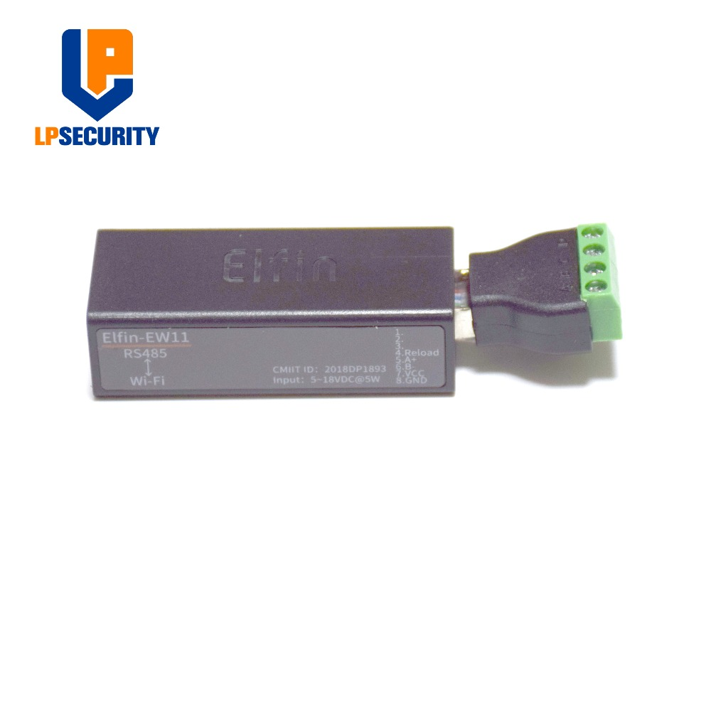 Back To Search Resultssecurity & Protection Learned Serial Port Rs485 To Wifi Device Server Module Elfin-ew11 Support Tcp/ip Telnet Modbus Tcp Protocol Data Transfer Via Wifi