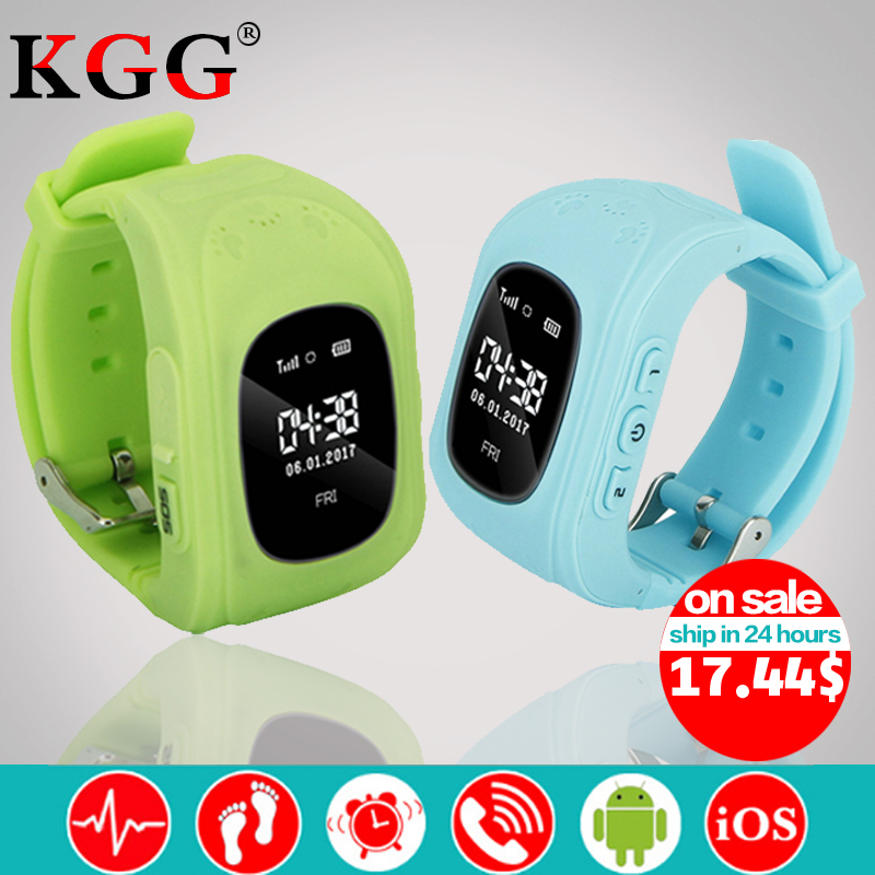 2018 New Q50 Wristwatch Smart Kid Safe GPS Smart Watch SOS Call Location Finder Locator Tracker Baby Anti Lost Monitor Pedometer