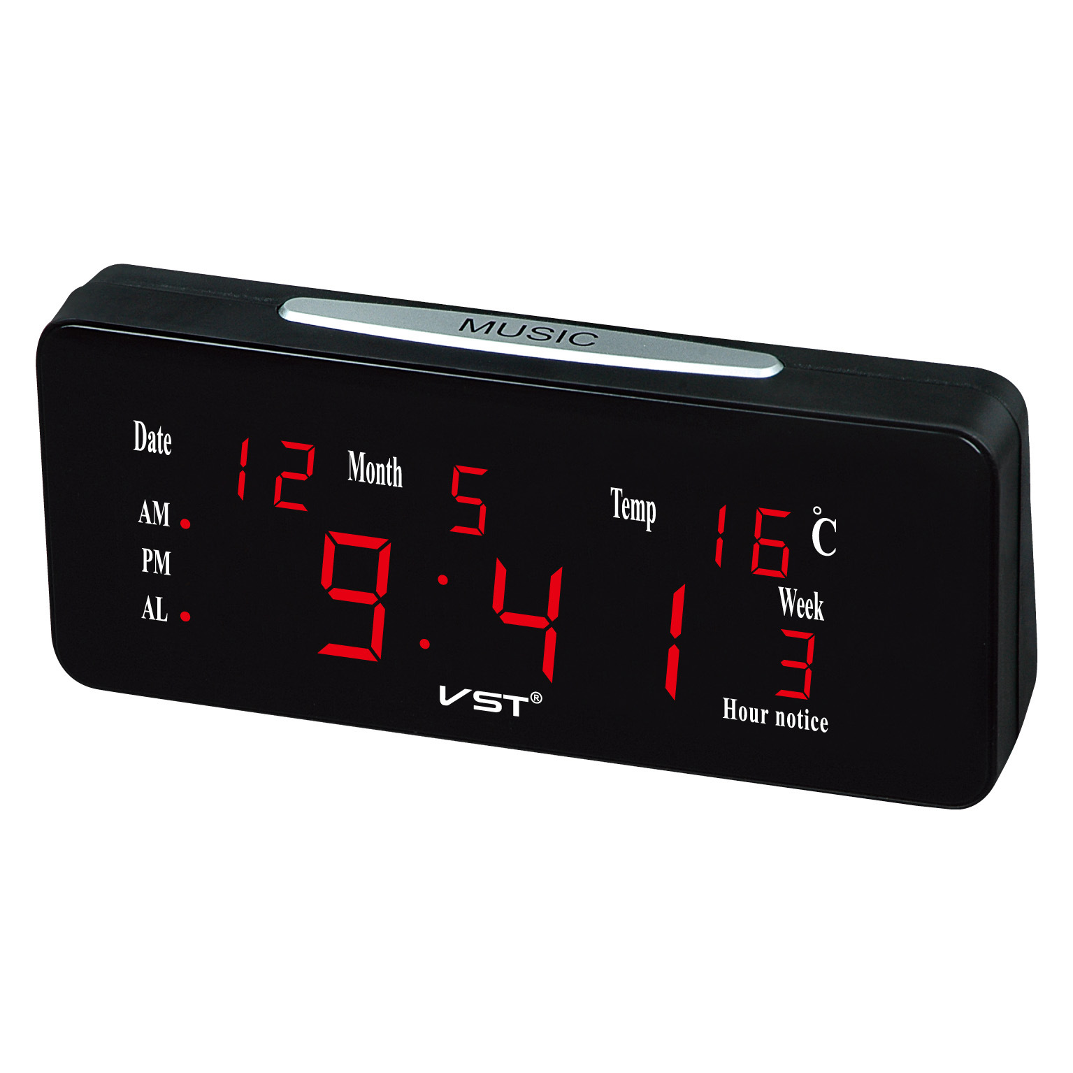 Digital Desk Clock Aliexpress Buy Led Calendar Large Display Modern