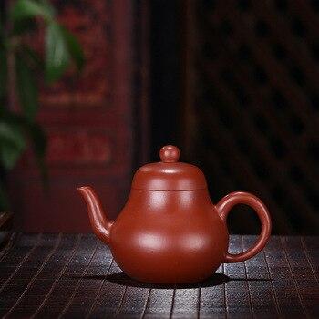 zisha teapot yixing manual dahongpao recommended monoaromatic think pavilion tea light, gift box packaging on sale