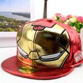 Children hat Iron Man hip hop hat spring new baseball cap boy cool snapback cap kids summer hat 2016