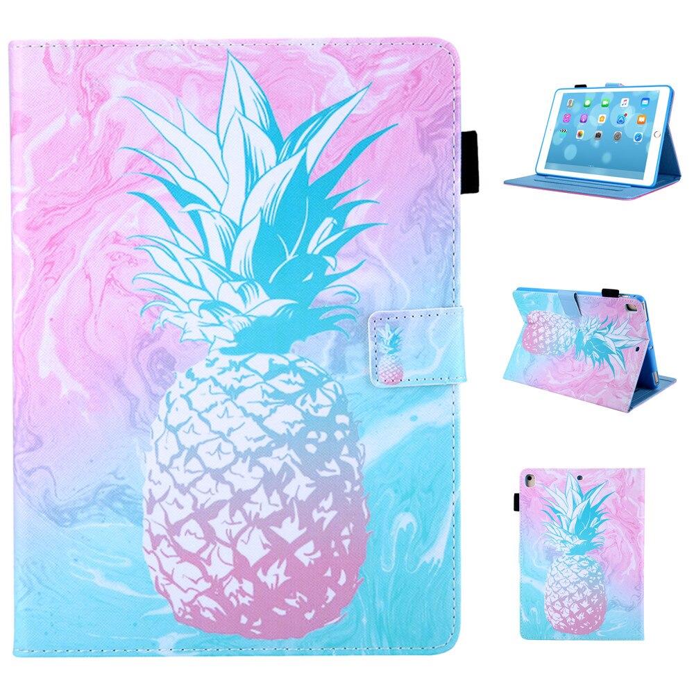 Розовый чехол с ананасом для iPad 2017 2018 9,7 дюймов Air 1 2 Pro 11 10,5 Mini 12345 iPad 234 Air 10,5 2019