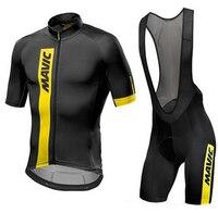Mavic 2018 Cycling Jersey Summer Team Short Sleeves Cycling Set Bike Clothing Ropa Ciclismo Cycling Clothing