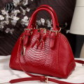new style women handbag fashion aslant leather handbag leather handbags Ms shell package b-8488