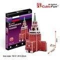 Кэндис го cubicfun 3D головоломки DIY бумаги модель здания подарок ребенку Спасская Башня Москва Россия бесплатная доставка 1 шт.