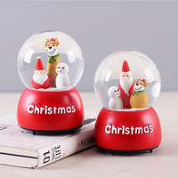 Christmas Musical Boxes Toys Creactive Birthday Gift Home Decoration Fashion Accessories Cute Music Box For Christmas