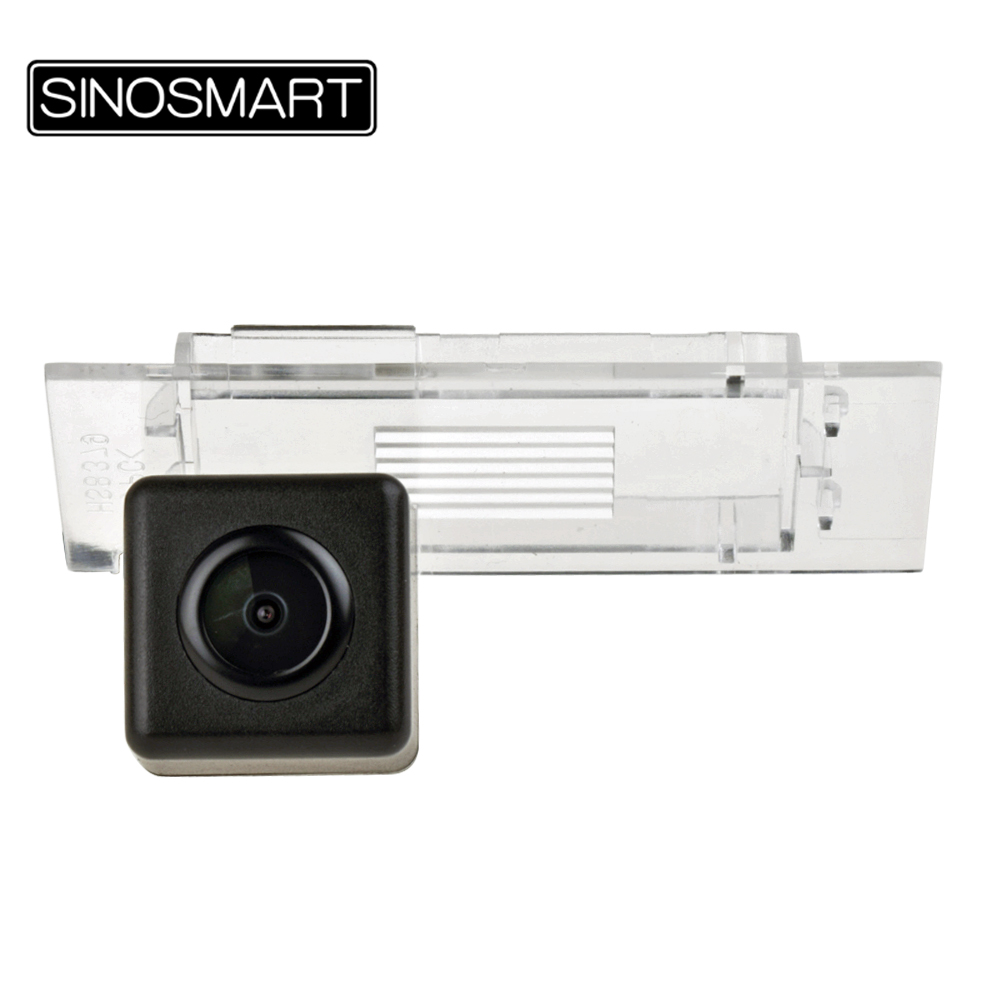 SINOSMART Rearview-Camera Car-Parking-Reversing Special Renault HD Wire For Kadjar Lampshade