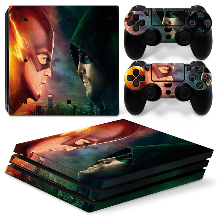 GAME ACCESSORIES VINYL DECAL STICKER SKIN FOR PS4 PRO CONSOLE AND CONTROLLER