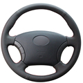 Black  Artificial Leather Car Steering Wheel Cover for Great Wall Haval Hover H3 H5 Wingle 3 Wingle 5