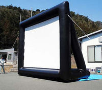 Huge Customized Outdoor Inflatable Movie Screen For Sale Open Air Cinema Home Projector Screen Manufacturer