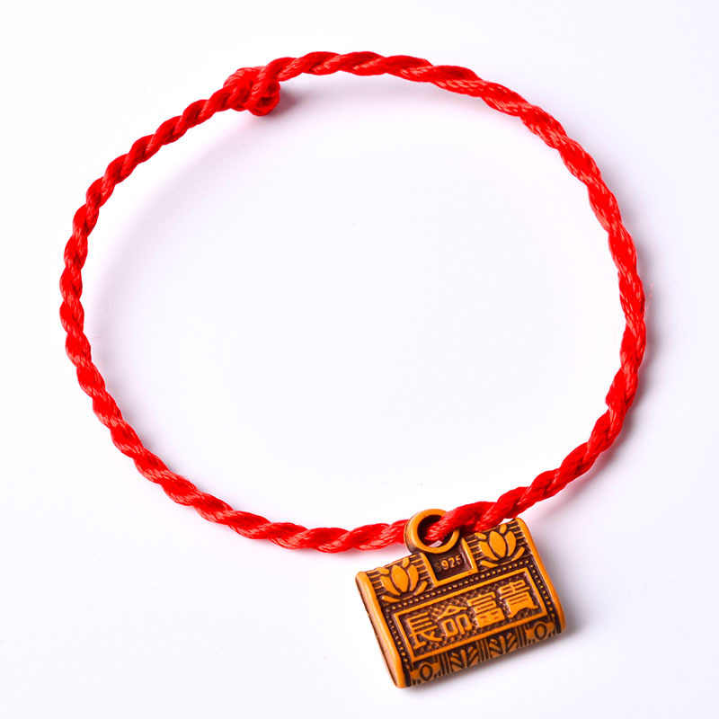2019 nuevo encanto pulsera cuerda roja bendición mascota colgante pulsera Lock Fish Brave tropa buena suerte 10 estilo para amantes niño