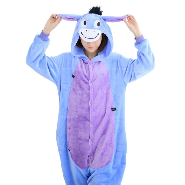 Autumn Winter Adual Unisex Cosplay Animal onesies Fleece Pink Unicorn for Women Warm Pajama Suit Pijamas feminino Sleepwear men