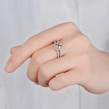 цена Sapphire Diamond Wedding Anillos De Ring Bizuteria Bague Etoile Jewelry for Women Ruby Amethyst Gemstone Emerald Diamante Rings