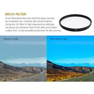 Image 4 - Hero5/6/7 カメラフィルターアルミアダプタ + UV CPL ND 2 4 8 フィルタ + キャップセット移動プロヒーロー 5 6 7 ブラック光学レンズアクセサリー