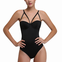 Sexy Push Up Bra Bodysuit Hot Lingerie Teddy Bra Thong One Piece Underwear Women Spandex Shapewear Bodysuit