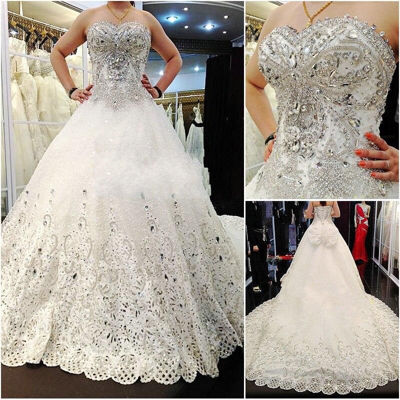 Vestidos de novia con cristales swarovski precio