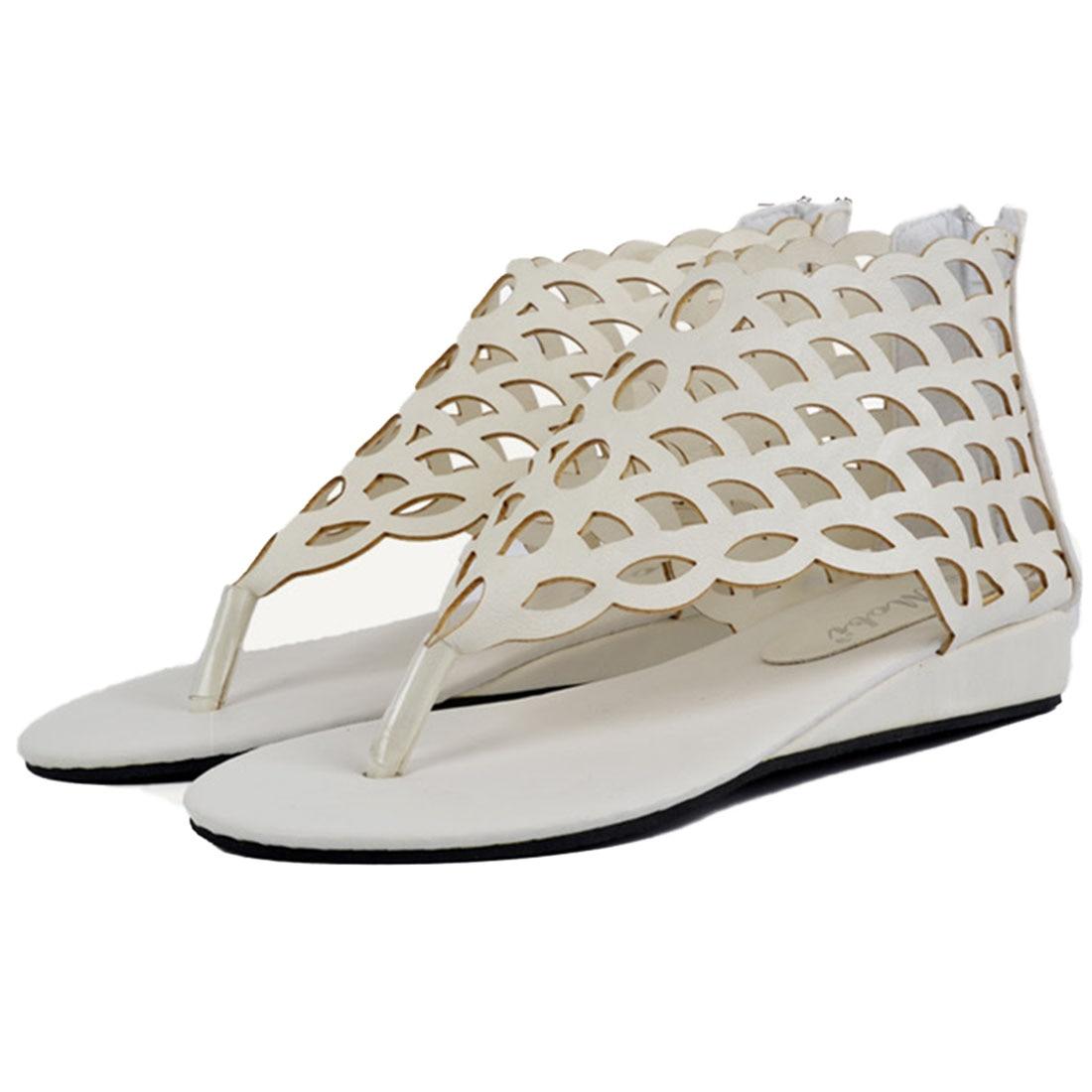 yjsfg house 2017 fashion women's shoes gladiator flats open toe