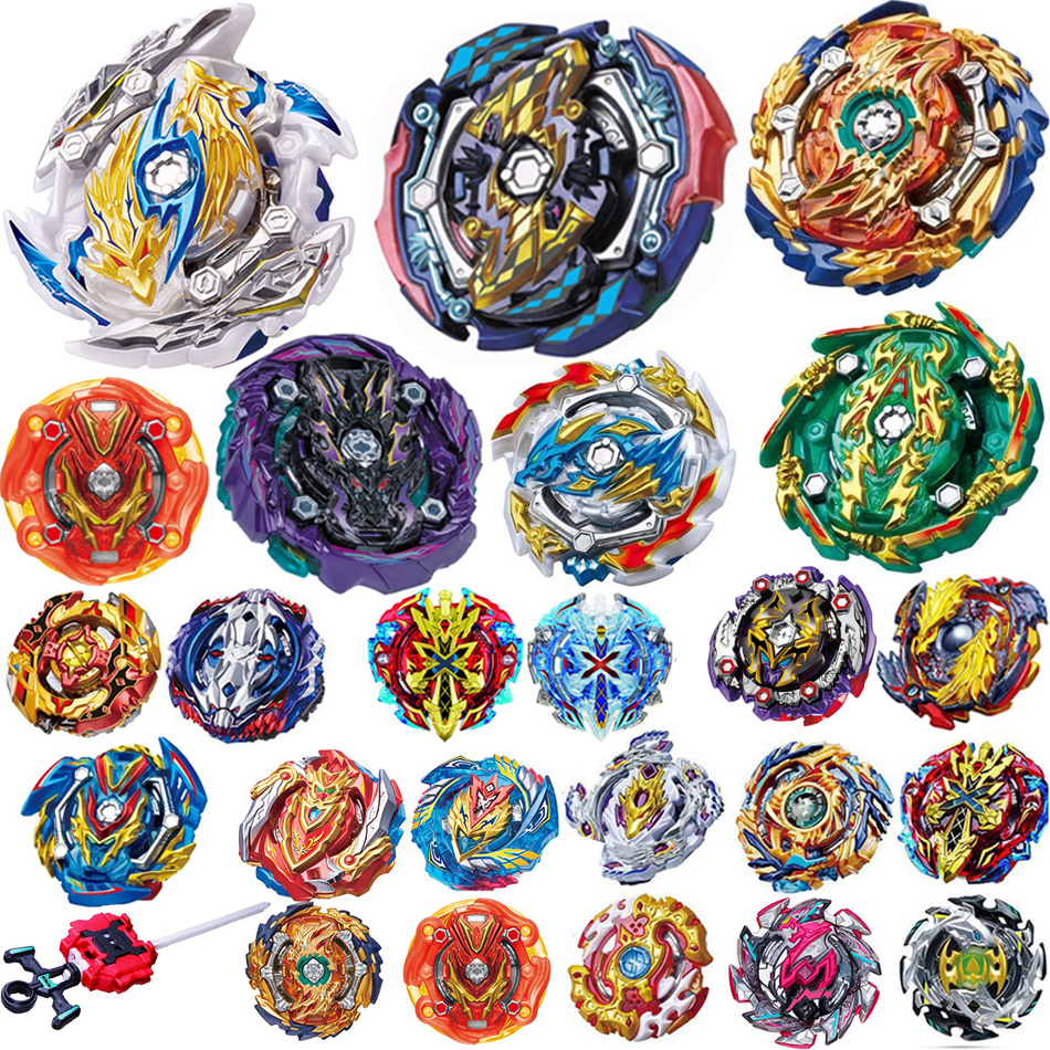 New Style B144 B143 B145 142 Bayblade Tops Launchers <font><b>Beyblade</b></font> <font><b>Burst</b></font> Toys Bables Fafnir Metal Spinning Top Bey Blade Blades Toy image