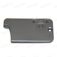 RN03005 HOT ITEM SMART CARD REMOTE KEY FOB CASE 3 BUTTON FOR RENAULT LAGUNA WITHOUT LOGO