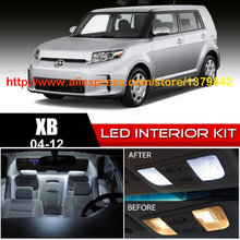 Free Shipping 12pc/lot car-styling LED Lights Car Styling Hi-Q Interior Package Kit For 04-12 Scion xb free shipping 12pc led lights car styling hi q interior package kit for seat exeo 3r2