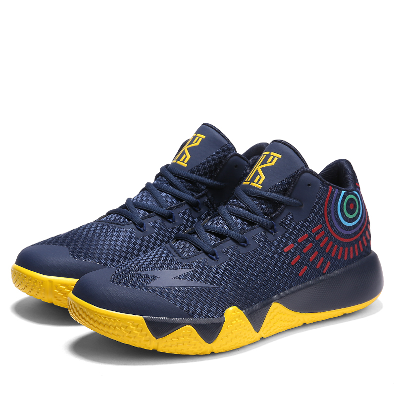 be3b8b13039 2019 Kyrie 4 Athletic Unisex Basketball Shoes outdoor low top comfortable  Star Models curry jordan shoes men sport ball Sneakers-in Basketball Shoes  from ...