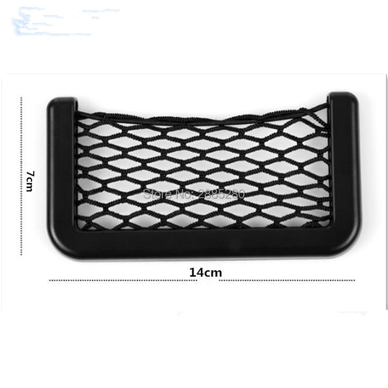 Car Storage Mesh Net Bag Holder Pocket Organizer For Fiat 500 Volvo S60 Smart Fortwo Passat B7 Volvo S80 Renault Megane 3 Vw T5