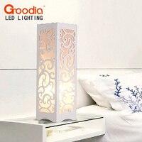 GOODIA Brand Creative Hollow Carved Decorative Desk Lamp Living Room Decor Table Lamp LED Bulb