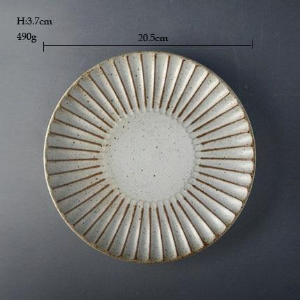 round plate M