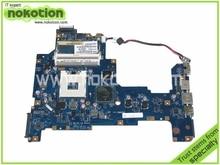 Loptop motherboard for Toshiba L670 L675 K000103760 NALAA LA-6041P REV 1.0 Intel HM55 DDR3 Mainboard free shipping