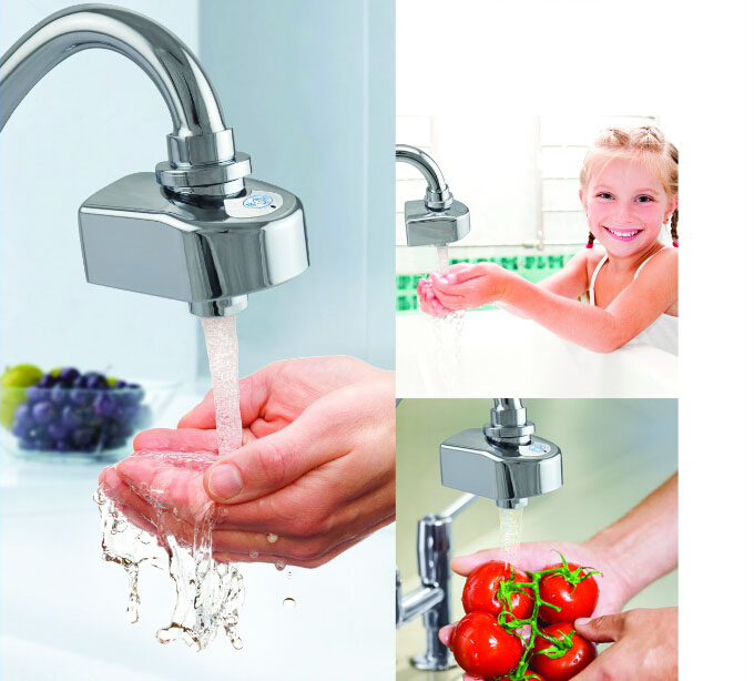 Water Conservation Infrared Sensor Faucet Touchless Automatic ...