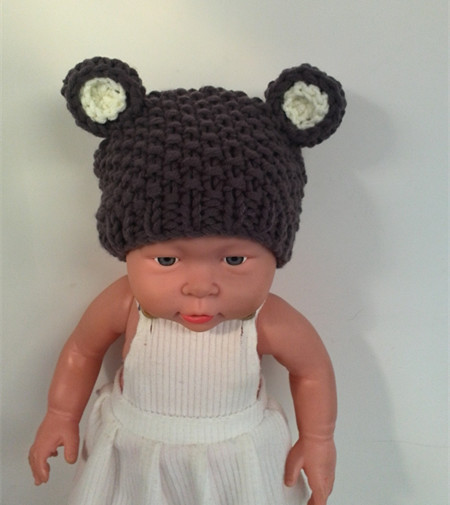 d63827c9782 Crochet teddy bear Hat