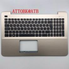 New SP Laptop Keyboard for Asus X555 X555L A555L F555L R556L VM510L W519L Y583L R557 W509 Keyboard Palmrest Cover with C