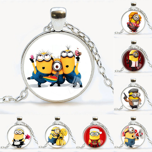 Aliexpress Buy Despicable Me Necklace Minions Movie Themed
