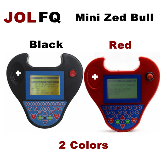 US $27 99 |Newest Auto Key Programmer Smart Mini Zed Bull smart zedbull 2  colors valiable ZED BULL Transponder chip key programming machine-in Auto