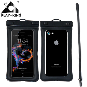 Universal Waterproof Phone case For iPhone X 8 7 6 5 Swimming phone case Bag Pouch For Phone 6 Float Airbag Bag цена 2017