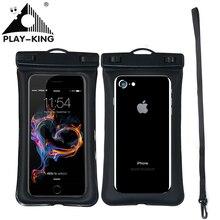 Universal Waterproof Phone case For iPhone X 8 7 6 5 Swimmin