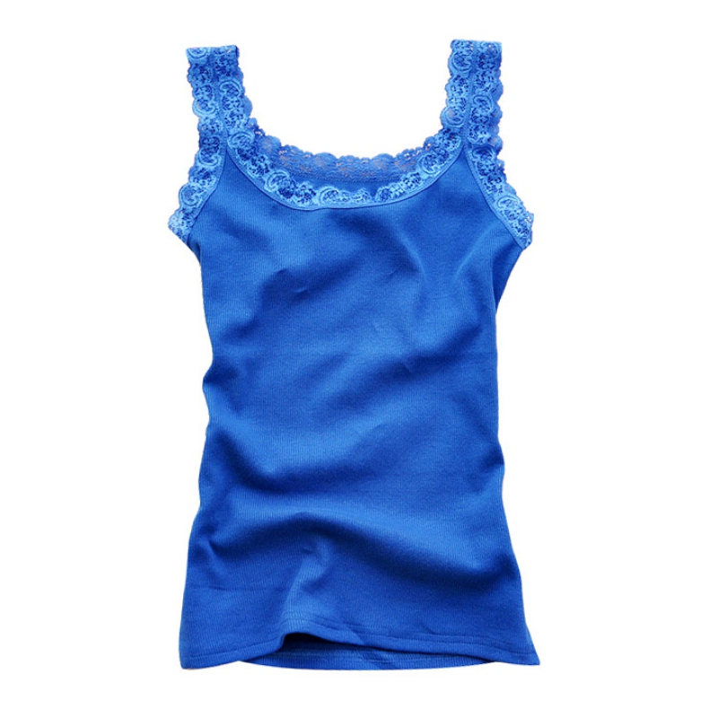 Women Girls Sleeveless Sexy T-shirt Vest Female Summer Tank Top Fashion Camisole Bodycon Lace Floral Solid Homewear