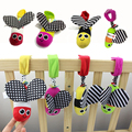 Newborn Baby Stroller Toys 4 Colors Lovely Bee Model Baby Bed Hanging Toys Educational Baby Rattle Toys