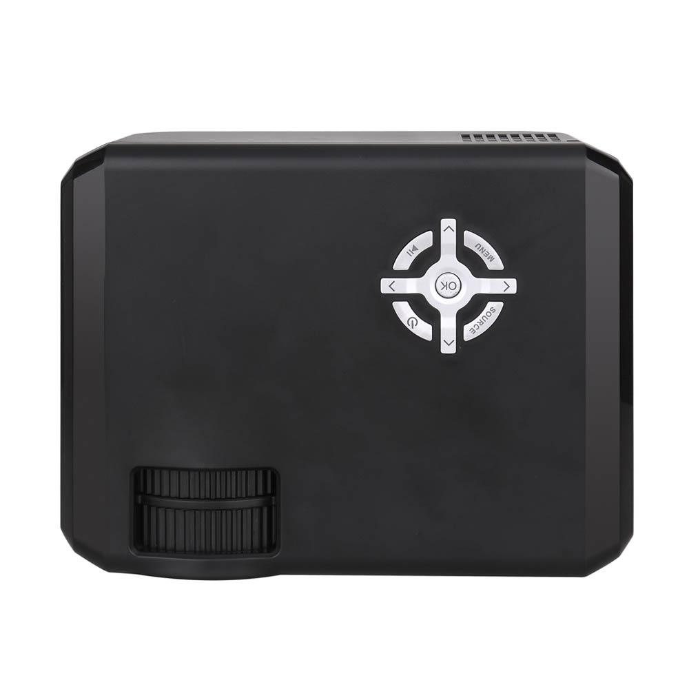 M17 мини-проектор <font><b>Full</b></font> <font><b>HD</b></font> <font><b>LED</b></font> проектор мини projetor 720 P дома Театр proyector 1280&#215;720 фильм Кино USB HDMI проектор