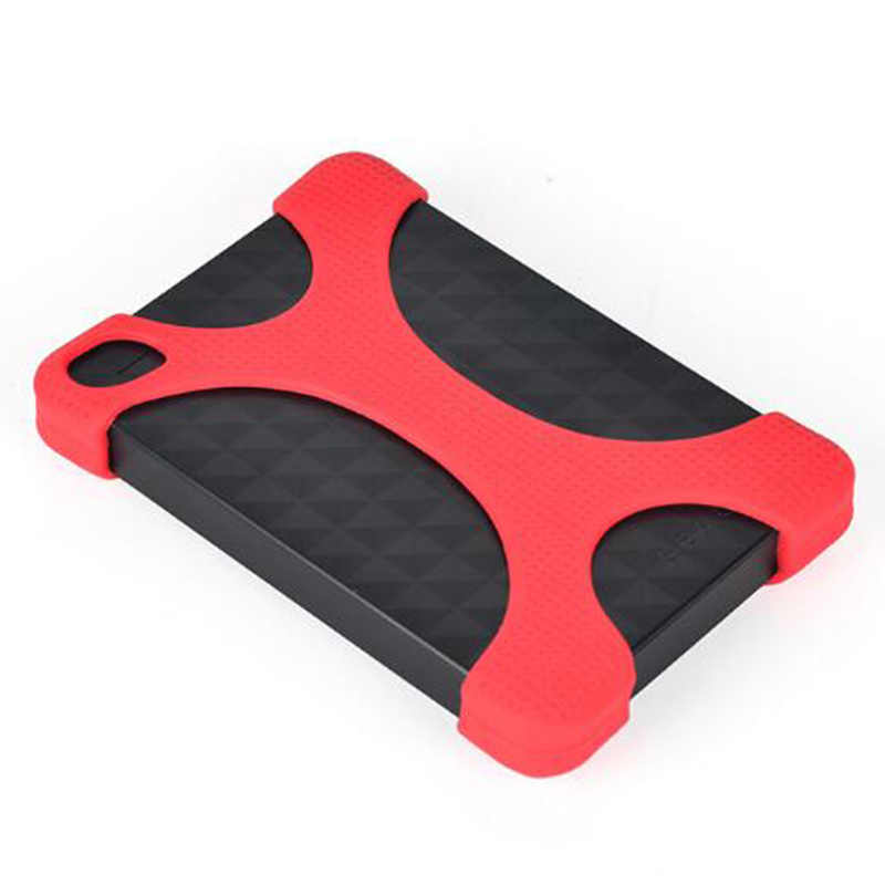"2.5 ""Draagbare Externe Harde Schijf Bag Carry Case Cover Silicon Rubber Case Voor 2.5 Inch Draagbare Harde Schijven HDD"