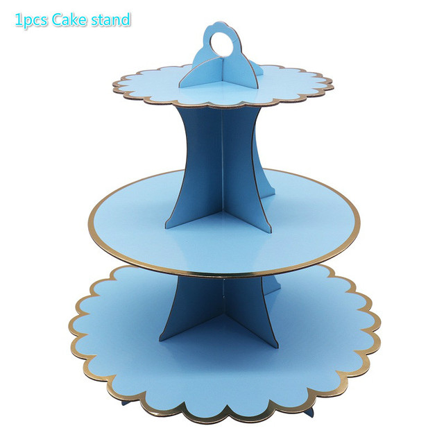 Blue Cake stand Presents for one year old boy 5c64f7ebeed00