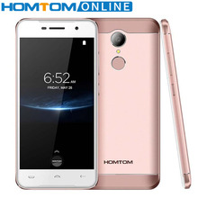 Homtom HT37 Pro 5 0 Inch HD font b Smartphone b font Double Speaker MTK 6737