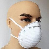 20 шт. нетканые медицинские N95 Маска Анти-промышленного пыли противотуберкулезных bacillus смога предотвращения PM2.5