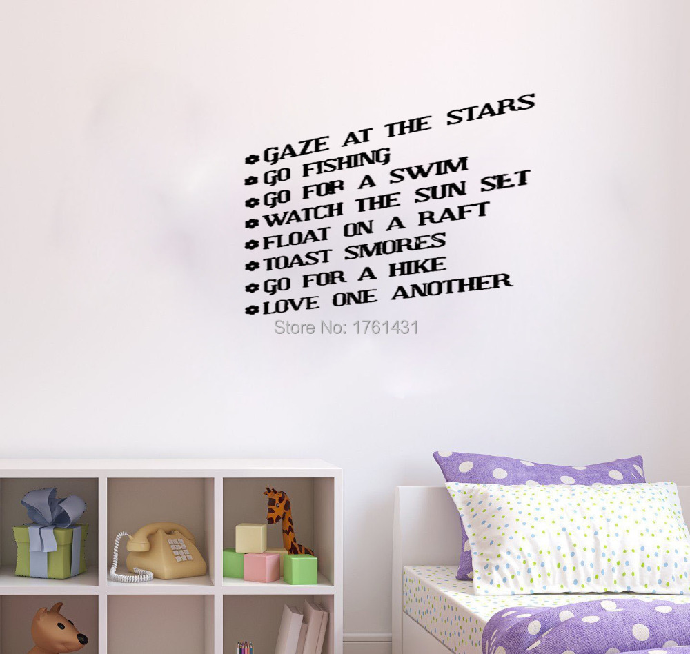 Love Fishing Quotes Gaze At The Stars Go Fishing.love One Another Home Decoration