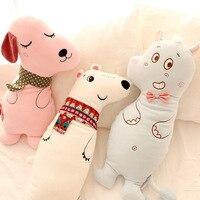 Кэндис Го плюшевые игрушки кукла милый белый медведь Бегемот Сонная собака мягкая подушка детей подарок на день рождения Рождественский по...
