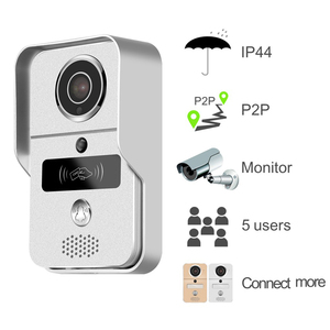 Image 4 - 720P TCP/IP WiFi Video Doorbell Support Wireless Unlock IOS Android APP Control Metal body exquisite design
